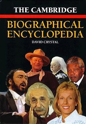 Image for CAMBRIDGE BIOGRAPHICAL ENCYCLOPEDIA