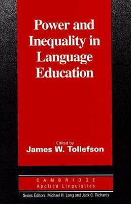 Image for Power and Inequality in Language Education