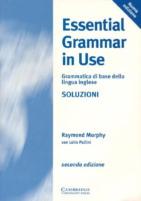 Image for Essential Grammar in Use Italian key  A Reference and Practice Book for Elementary Students of English