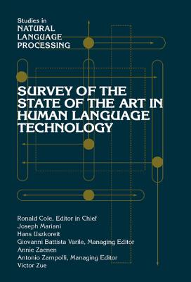 Image for Survey of the State of the Art in Human Language Technology (Studies in Natural Language Processing)