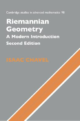 Image for Riemannian Geometry: A Modern Introduction (Cambridge Studies in Advanced Mathematics)