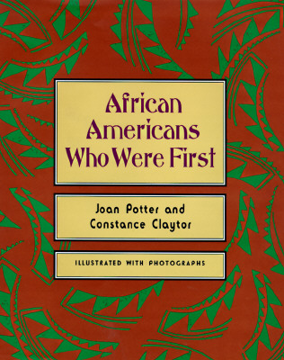Image for African Americans Who Were First