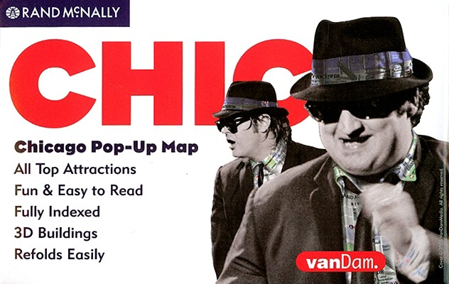 Image for POP UP MAP CHICAGO, ILLINOIS
