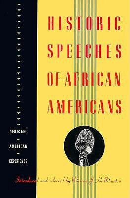 Image for Historic Speeches of African Americans