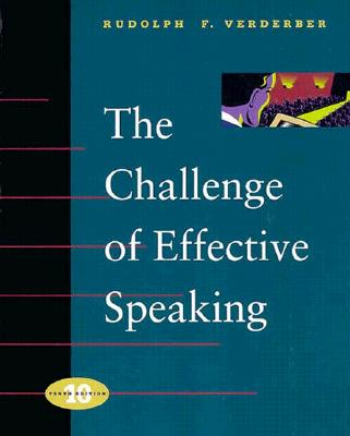 Image for The Challenge of Effective Speaking (Speech and Theater)