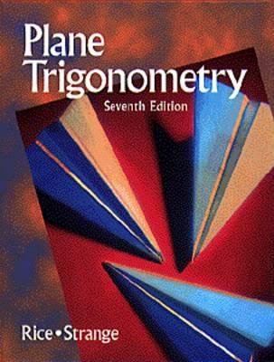 Image for Plane Trigonometry