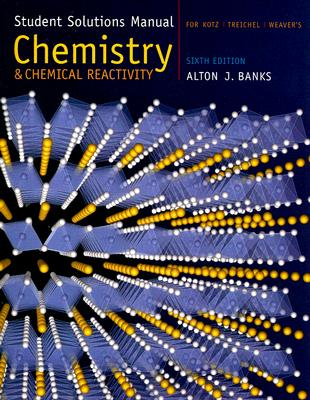 Image for Student Solutions Manual for Kotz/Treichel/Weaver?s Chemistry and Chemical Reactivity, 6th