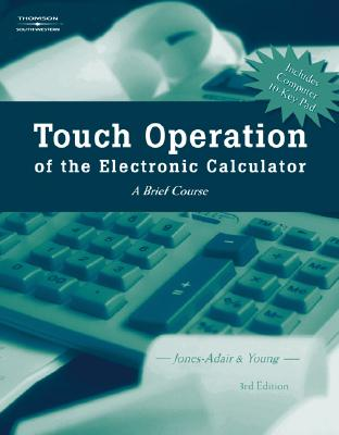 Image for Touch Operation of the Electronic Calculator