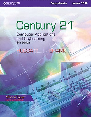 Image for Century 21TM Computer Applications and Keyboarding, Lessons 1-170 (Century 21 Keyboarding)