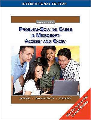 Image for Problem Solving Cases in Microsoft Access and Excel 7th Edition