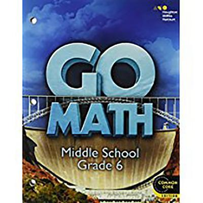 Image for Go Math!: Student Interactive Worktext Grade 6 2014
