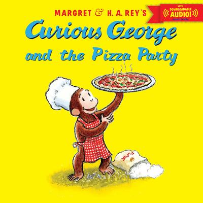 CURIOUS GEORGE AND THE PIZZA PARTY WITH, MARGRET REY