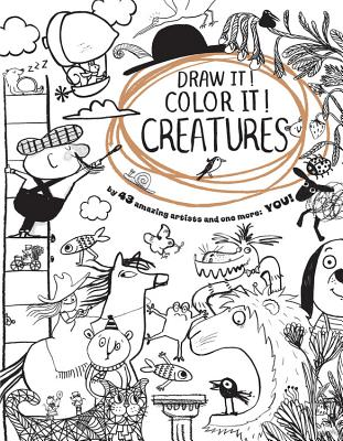 Image for Draw It! Color It! Creatures