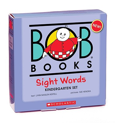 Image for Bob Books: Sight Words, Kindergarten (10 Book Collection Plus 30 Flash Cards)