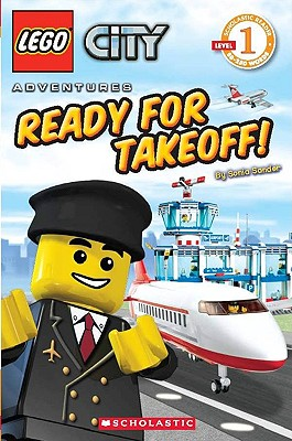 Image for Ready for Takeoff! (LEGO City, Scholastic Reader, Level 1)