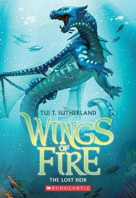 Wings of Fire Book Two: The Lost Heir, Tui T. Sutherland
