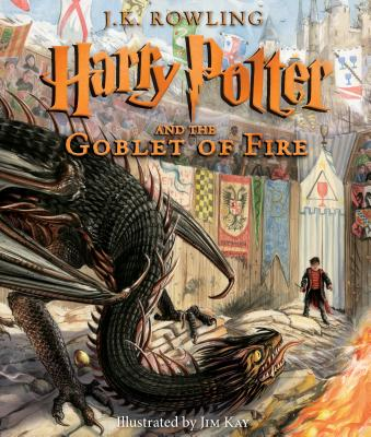 Image for Harry Potter and the Goblet of Fire: The Illustrated Edition