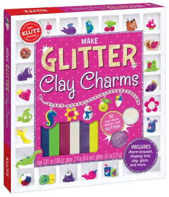 Image for Make Glitter Clay Charms (Klutz)