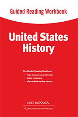 Image for United States History: Guided Reading Workbook Survey