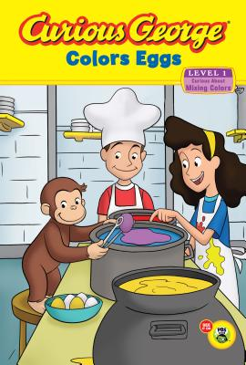 Image for Curious George Colors Eggs (CGTV Reader)