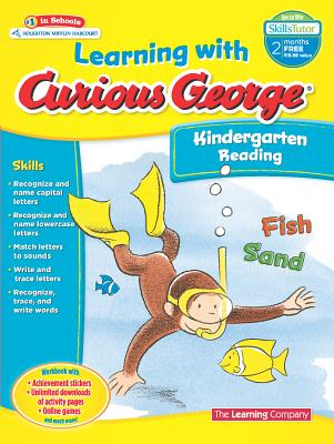 Learning with Curious George Kindergarten Reading, The Learning Company
