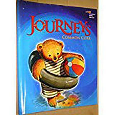 Journeys: Common Core Student Edition Volume 1 Grade K 2014, HOUGHTON MIFFLIN HARCOURT