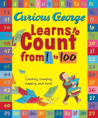 """Curious George Learns to Count from 1 to 100 Big Book, """"Rey, H. A."""""""
