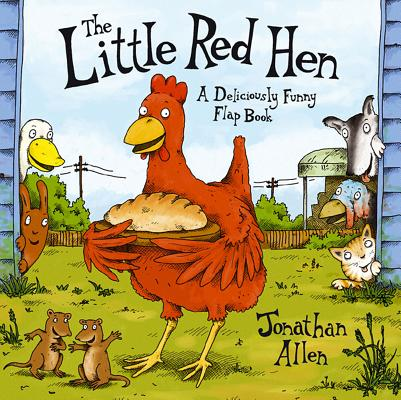 Image for Little Red Hen: A Deliciously Funny Flap Book