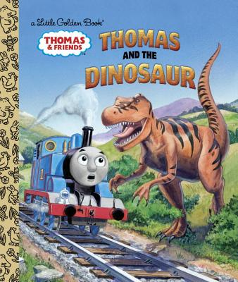 Image for Thomas and the Dinosaur (Thomas & Friends) (Little Golden Book)