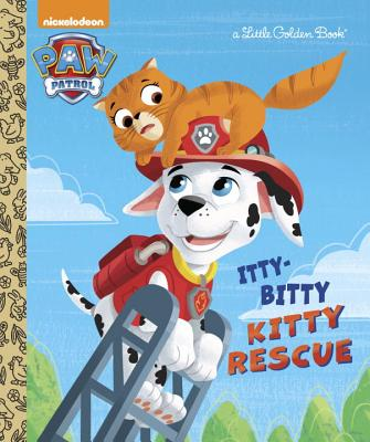 Image for The Itty-Bitty Kitty Rescue (Paw Patrol) (Little Golden Book)