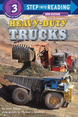 Image for Heavy-Duty Trucks (Step into Reading)