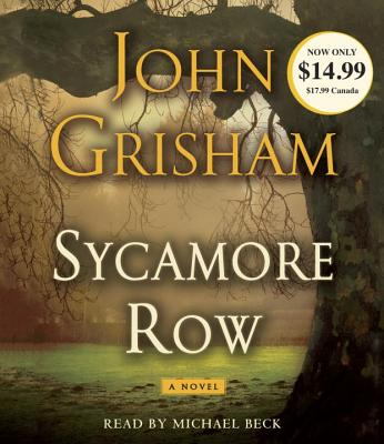 Image for SYCAMORE ROW (AUDIO) READ BY MICHAEL BECK