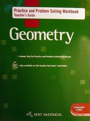 Image for Holt McDougal Geometry: Practice and Problem Solving Workbook Teacher Guide