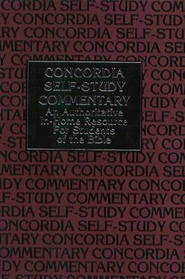 Image for Concordia Self-Study Commentary