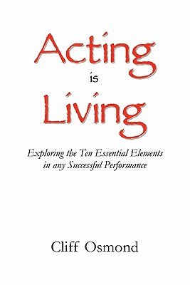 Image for Acting is Living
