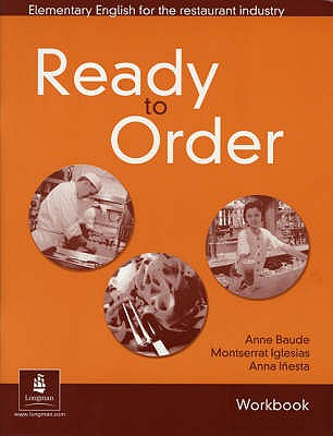 Image for Ready to Order Workbook with Answer Key: Elementary English for the Restaurant Industry