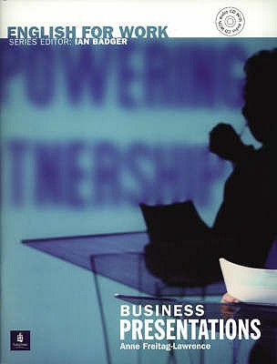 Image for English for Work: Business Presentations  Book & Audio CD  Business Presentations Book/CD Pack
