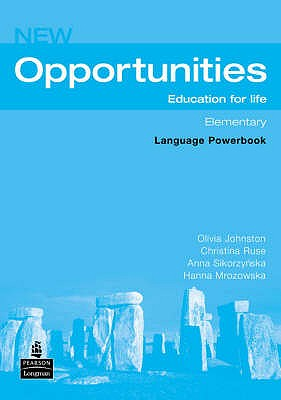 Image for New Opportunities Elementary Language Powerbook  Education for Life