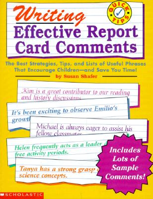 Image for Writing Effective Report Card Comments (Grades 1-6)