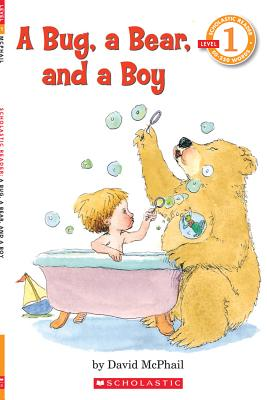 Image for A Bug, a Bear, and a Boy (Scholastic Reader, Level 1)