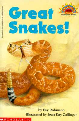 Image for Great Snakes! Hello Reader Level 2 Science K-2