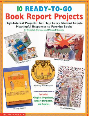 Image for 10 Ready-to-Go Book Report Projects (Grades 4-8)