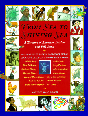Image for From Sea to Shining Sea: A Treasury of American Folklore and Folk Songs