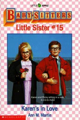 Image for Karen's in Love (Baby-Sitters Little Sister, No. 15)