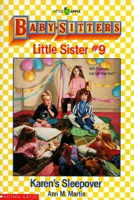 Image for Karen's Sleepover (Baby-Sitters Little Sister, No. 9)