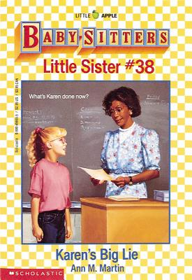 Image for Karen's Big Lie;Baby-Sitters Little Sister, 38