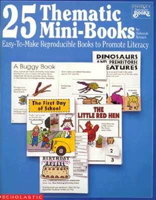 Image for 25 Thematic Mini-Books (Grades K-3)