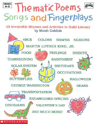Image for Thematic Poems, Songs, and Fingerplays (Grades K-2)