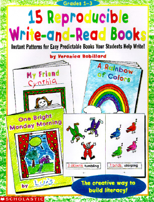 Image for 15 Reproducible Write-and-Read Books (Grades K-2)