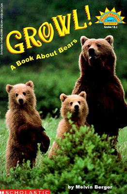 Image for Growl! A Book About Bears (level 3) (Hello Reader)